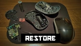 How to Open and Repair a Logitech Wireless Mouse M185 and M215 (Click Issue)