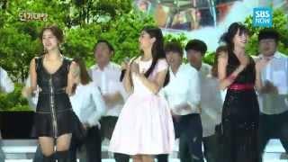 SBS [2014 연기대상] - 한그루&박서준 의 열정 가득한 무대