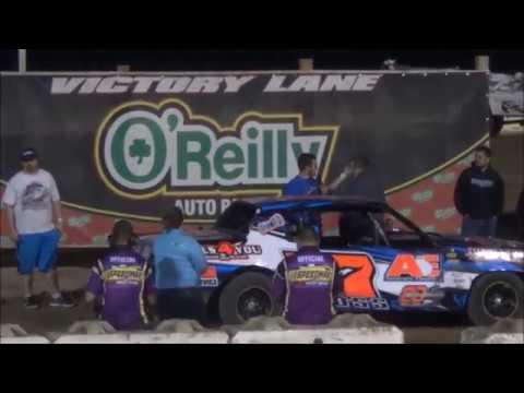 Salina Speedway IMCA Hobby Stocks *Heats and A Feature* 4/14/17