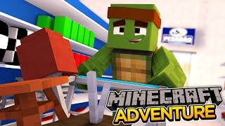 Minecraft Adventure - SHOPPING FOR MY NEW ROOM!