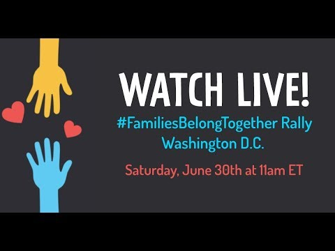 LIVE: Families Belong Together Rally In Washington D.C.