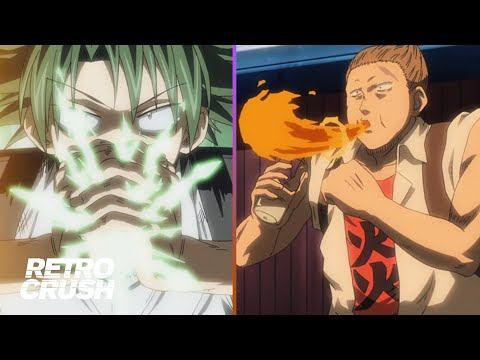 Power to change Water into Fire vs. Power to turn Trash into Tree!   The Law of Ueki (2005)