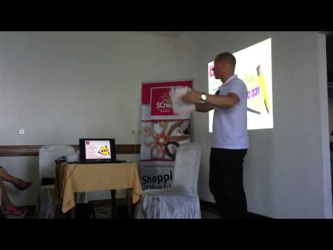 Robert Pausic SCNet Team building seminar Struga, Macedonia  - part 1