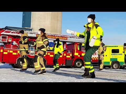 Jerusalema Challenge - Ambulance and Rescue services of Örnsköldsvik, Sweden. Feb 2021 - Litbox Productions