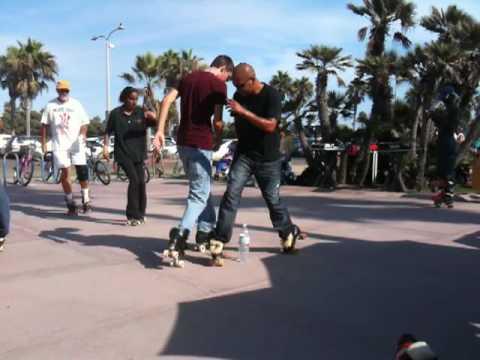 Roller Skating - Crazy Legs - Mission Beach, San Diego, CA_008