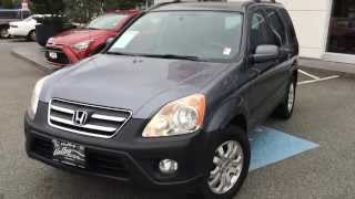 2006 Honda Cr-v Ex Preview, For Sale At Valley Toyota Scion In Chilliwack B.c. # 15612b
