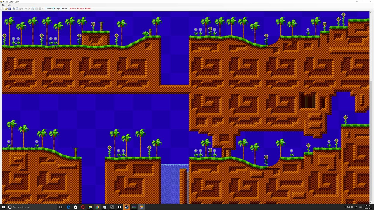 Sonic Level Images - Reverse Search