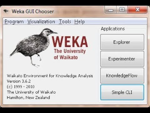 Data Analysis Using WEKA - Short Tutorial
