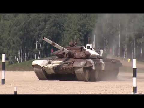 Tank Biathlon 2017 In Russia.