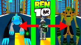 BEN 10 STRONGEST ALIEN? Roblox Ben 10 Arrival of Aliens