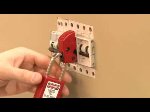 Universal Miniature Circuit Breaker Lockout MCB Lockouts Safety Device