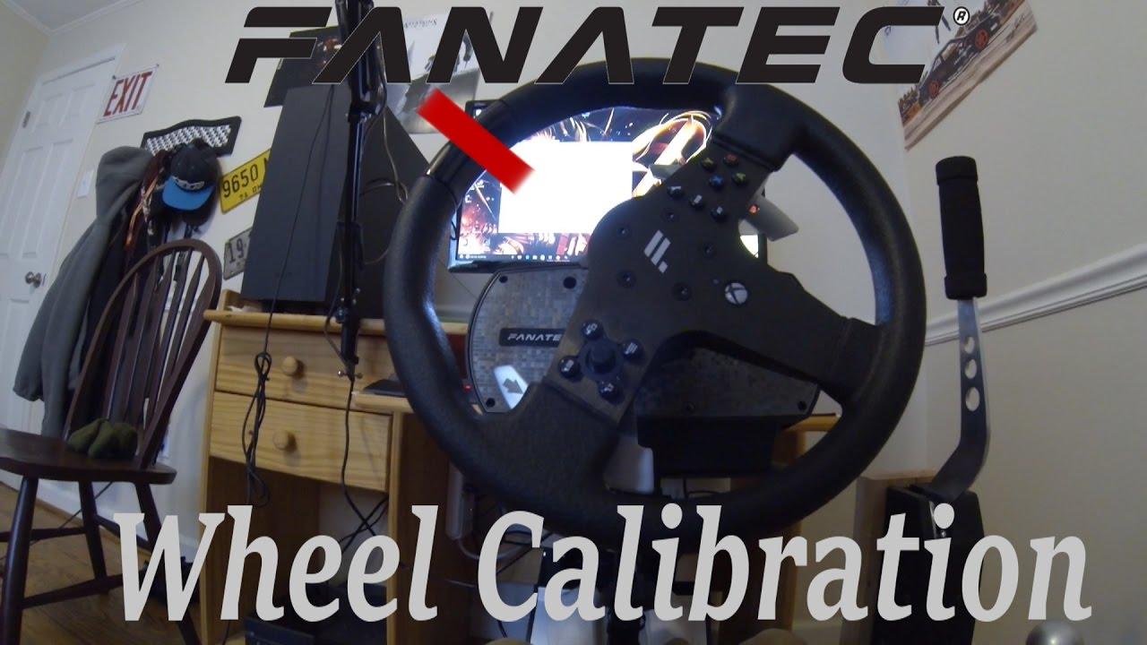 Fanatec Wheel Calibration & Setup