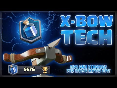 X-BOW STRATEGY & TIPS! Tough Match-Ups and Master 3 Pushing Breakdown!