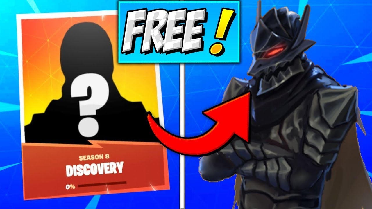 How To Get Discovery Skin Free Skin Fortnite Season 8 Secret Skins
