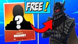 How To Get DISCOVERY SKIN (FREE SKIN) Fortnite Season 8 SECRET Skins Challenges (UNLOCK MYSTERY)
