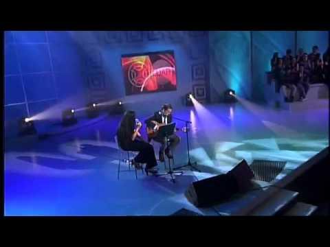 Luis Emilio Batallán e Rosa Cedrón en Luar da TVG