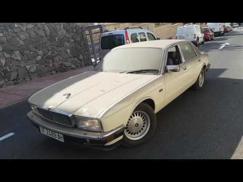 Jaguar XJ40 XJ6 BarnFind Old Start Cold Start
