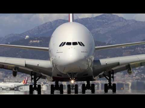 Emirates A380 Touches Down in Nice | Emirates Airline