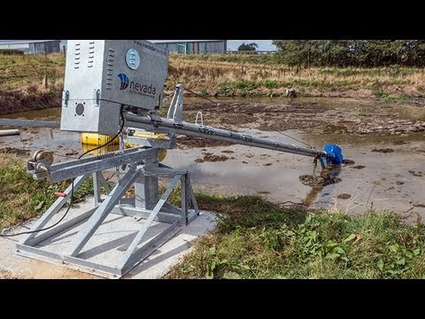 Nevada Electric Pond Mixer Youtube
