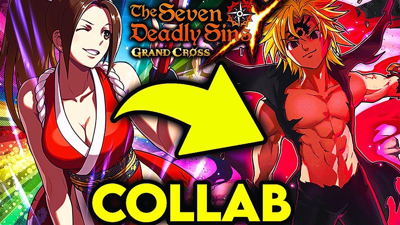 NEW COLLAB COMING!! NEW KOF ᵀᴵᴰᴰᴵᴱˢ I MEAN CHARACTERS COMING!!!   Seven Deadly Sins: Grand Cross