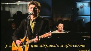 Crowded House - Fall at your Feet live HD (subtitulos español)