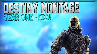 "Destiny Montage - ""Members of Year One"" (Destiny Year One Montage)"