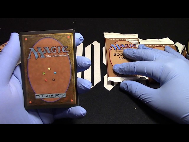 Revised 3 boosters opened! Lets have some fun! MTG