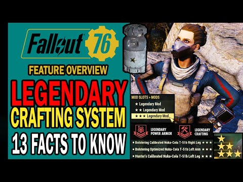 Legendary Crafting System: 13 Facts to Know! | Feature Overview | Fallout 76 Steel Reign
