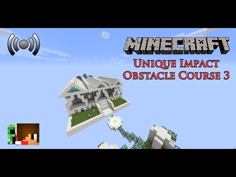 【Live ย้อนศร】Minecraft Map - Unique Impact Obstacle Course 3