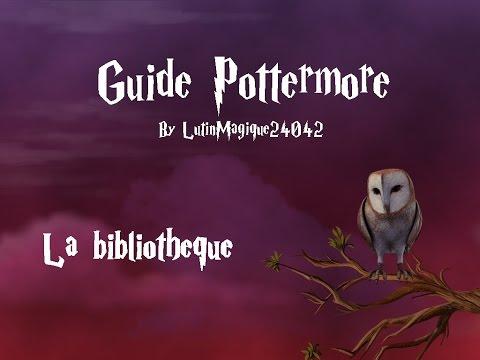 Guide Pottermore // La bibliothèque...