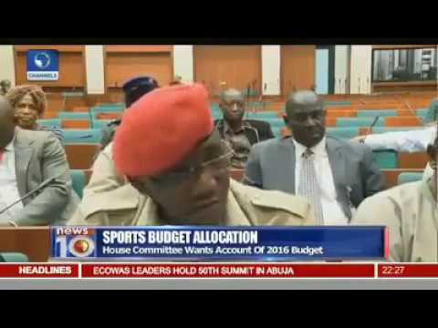 "The Funds Were Properly ""Spended"" - Nigerian Sports Minister, Solomon Dalung"