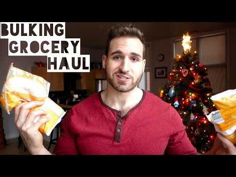 Grocery Haul For Gaining Muscle | The Diet Chef