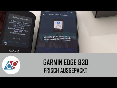 Garmin Edge 830 - Frisch Ausgepackt