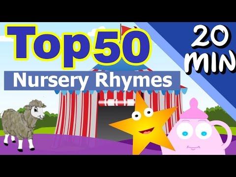 Top New 50 Nursery Rhymes 2015    Abcd    Humpty Dumpty    Incy Wincy Spider    Hot Cross Bun