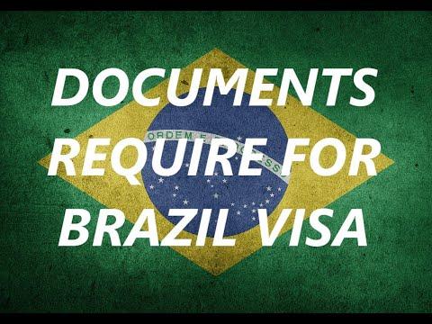 Tourist Visa For Brazil   Brazil Visa Requirements