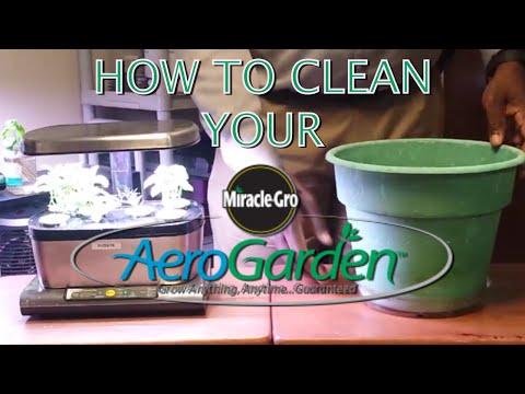 How to Clean Your AeroGarden Harvest/Harvest Elite