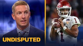 Kyler, Haskins, Grier? Joel Klatt picks for his 2019 NFL Mock Draft | NFL | UNDISPUTED