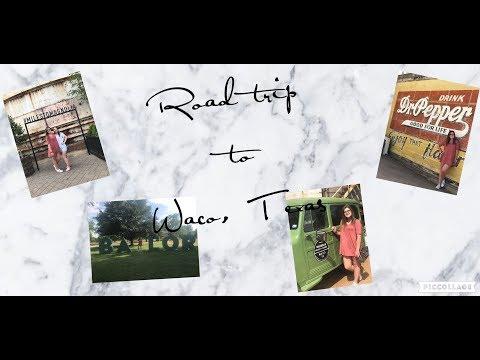 Road trip to Waco, Texas & Magnolia Market Vlog || Kaitlynn Shilling