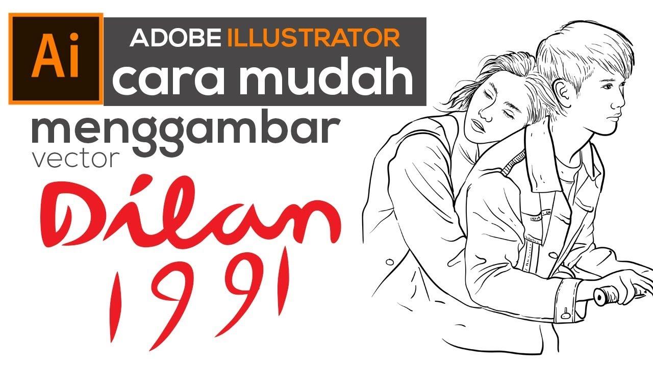 Vector Line Art Dilan 1991 Free Download Vector Youtube