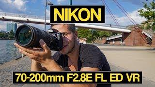 видео Nikon 70-200mm f/4G - обзор объектива на сайте myCHAOS.ru