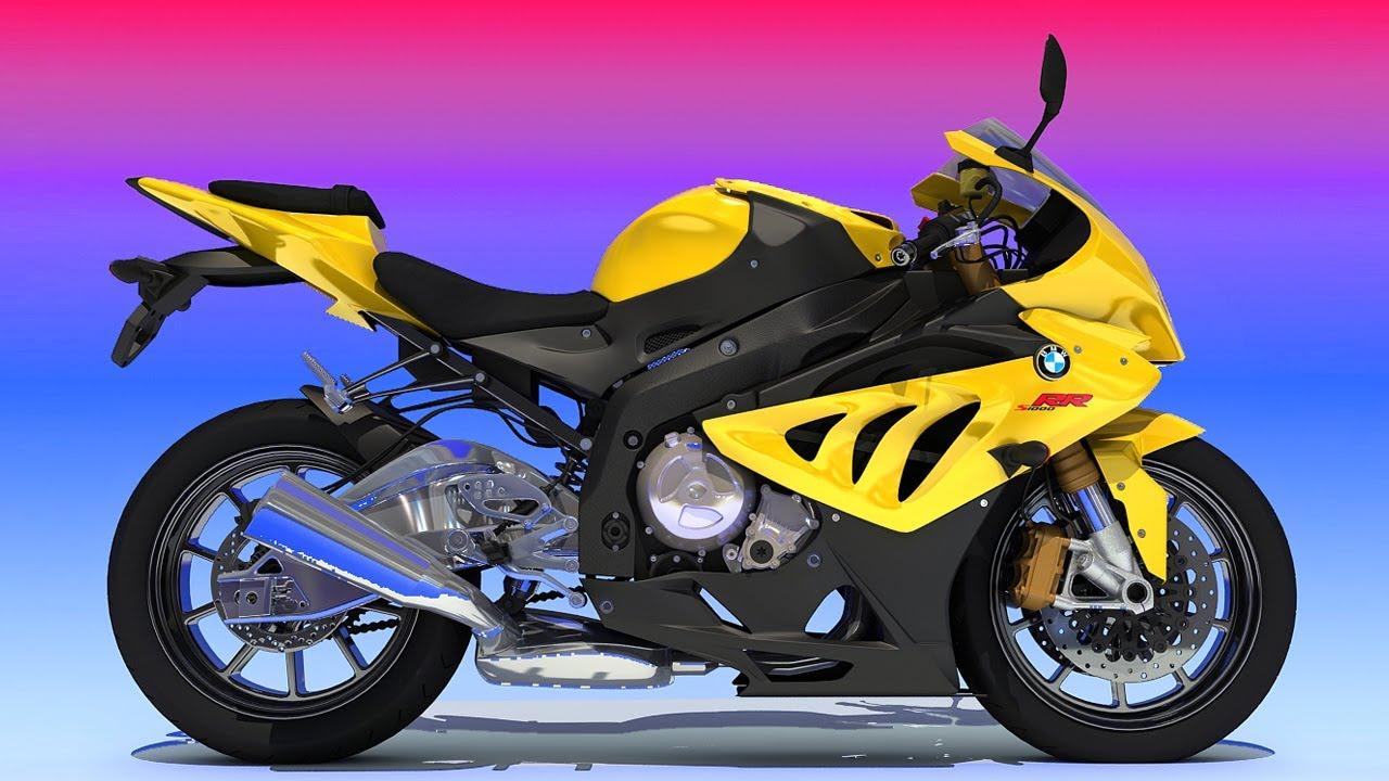 BMW Sport Bike 3D Model