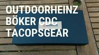 Outdoorheinz - Böker CDC Tacopsgear - Werkzeug - EDC