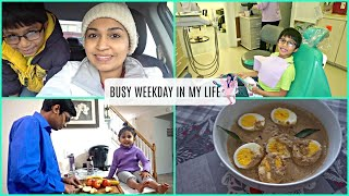Morning Schedule/Productive Morning/Busy Weekday/Egg curry Kerala style