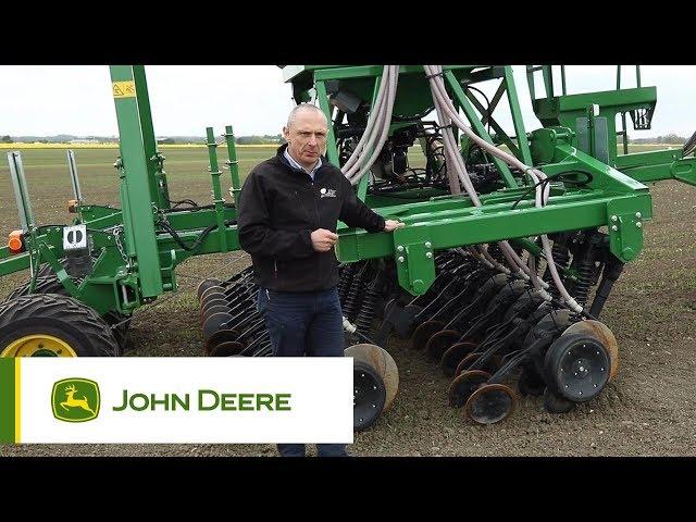 Semoir 750A John Deere - Détails (version longue)