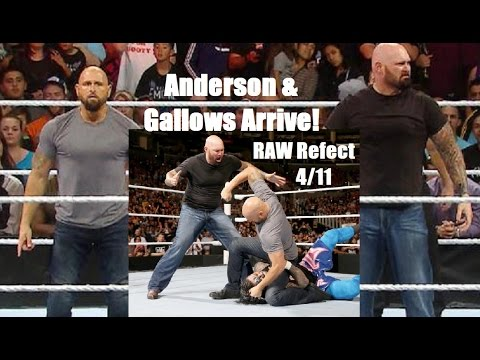 Anderson & Gallows Arrive! -  RAW Reflect 4/11