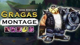 """Sick Rischat """"Gragas Main"""" Montage - Best Gragas Plays 2017"""