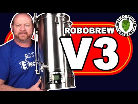 ROBOBREW V3 Review 2018 USA All Grain Brewing System | First Impressions And New Features Review