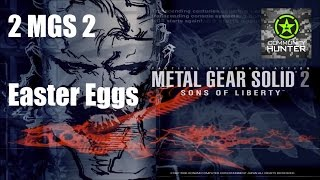 2 Easter Eggs - Metal Gear Solid 2: Sons of Liberty
