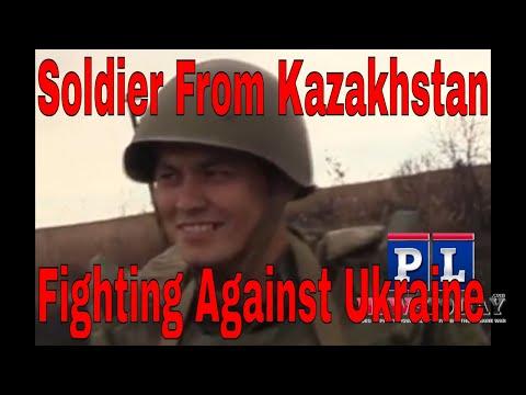 Kazakhstan soldier fighting in the DPR army against Ukraine