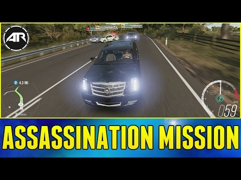 Forza Horizon 3 Online : ASSASSINATION MISSION!!!